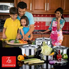 Cookware, Masters, Stainless Steel, Make It Yourself, Elegant, Stylish, Cooking, Kitchen, Products
