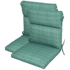 plantation patterns rhodes trellis highback patio chair cushion 2pack7718