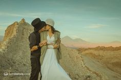 Trash the Dress no Deserto do Atacama - Sibilla e Keith