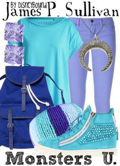 Sully at Monsters University by DisneyBound