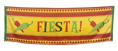 Fiesta-kangasbanderolli