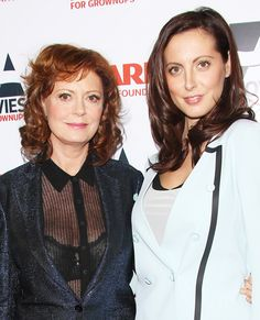 Famous Families: Like Mother, Like Daughter - Susan Sarandon and Eva Amurri from #InStyle
