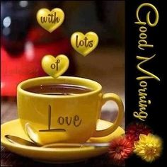 Lots of love with your cup of coffee