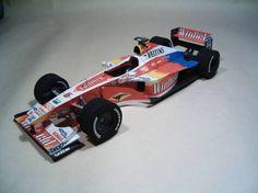 F1 Paper Model - 1999 Williams FW21 Paper Car Free Template Download - http://www.papercraftsquare.com/f1-paper-model-1999-williams-fw21-paper-car-free-template-download.html#124, #Car, #F1, #F1PaperModel, #FormulaOne, #FW21, #PaperCar, #Williams, #WilliamsFW21