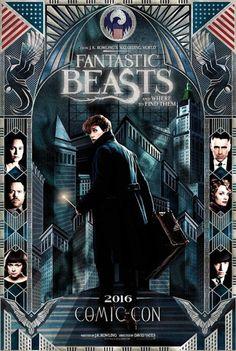 Galaxy Fantasy: Tráiler y póster de la Comic Con de San Diego de 'Fantastic Beasts and Where to Find Them'