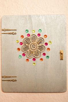 Color Pop Fairy Door by CrystalandLeaf on Etsy