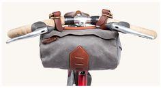 Tanner Goods Porter Bike Handlebar Bag, Charcoal