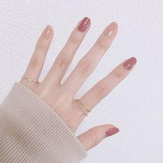 Endearing nails designs ideas that make you want to copy 10 - Endearing nail. - Jimmi Endearing nails designs ideas that make you want to copy 10 – Endearing nails designs ideas that make you want to copy 10 – - Korean Nail Art, Korean Nails, Minimalist Nails, Nail Swag, Perfect Nails, Gorgeous Nails, Cute Nails, Pretty Nails, Hair And Nails