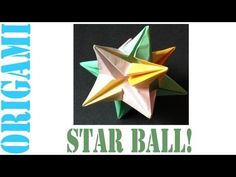 How to Make an Origami Modular Decorative Star Ball (3D Omega Star)!: 0 Steps