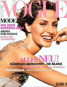 Elsa Benitez Vogue Deutsch August 1998