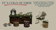 It's Cold Outside set (P) at Leo Sims • Sims 4 Updates