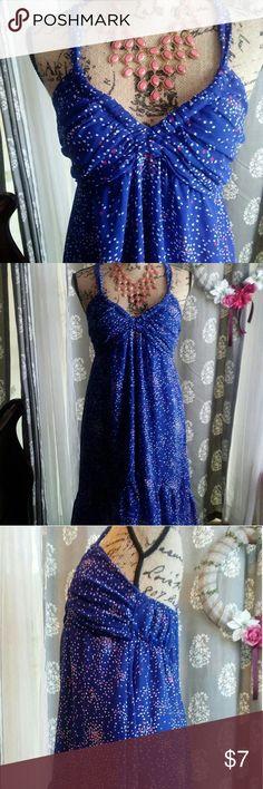 Dress Cute summer dress  100% polyester Shorter from the front longer in the back Forever 21 Dresses