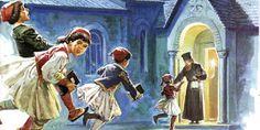 Η Νατα...Λίνα στο Νηπιαγωγείο: 25η Μαρτίου 1821-Ευαγγελισμός