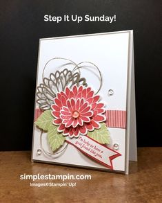 Stepping it up....a wee bit! - Simple Stampin