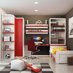 Kids Furniture - Organized and spacious and trendy all at the same time!