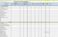 free construction estimating spreadsheet for building and remodeling buildingadvisor