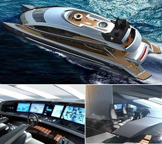Porsche Design Group & Royal Falcon Fleet Team Up for the RFF135 #yachts trendhunter.com
