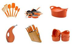 Rachael Ray . . . I use so many of her products! RR truly has a great collection of products that will make your kitchen look great and make cooking more enjoyable.