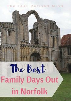 Looking for fun things to do in Norfolk? Here are 5 of the best family days out in Norfolk and surrounding areas, for all the family to enjoy! Norwich England, Norfolk England, Days Out With Kids, Family Days Out, Travel With Kids, Family Travel, Travel Uk, Places In England, Uk Holidays