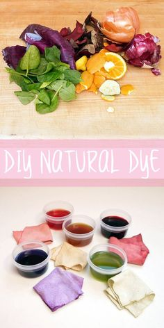 Use vegetables and fruits to make these nontoxic natural dyes that are safe for the skin.