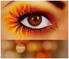 'eye flower face