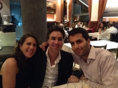 Laura Hoffmann, Julio Abdala y Pablo Hoffmann: Colaboradores en Cita En Las Diagonales.