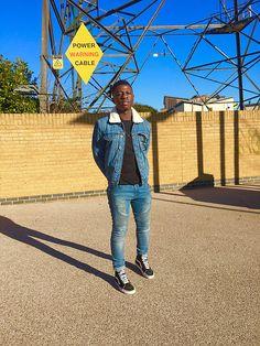 Double Denim Vans Biker Jeans Men's style/fashion