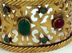 Bracelet 'Baroque' - Yves Saint Laurent - 1980