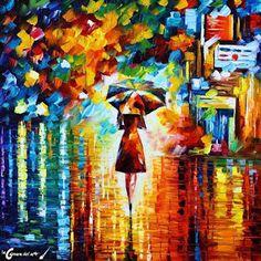 Princesa bajo la lluvia | La cámara del arte