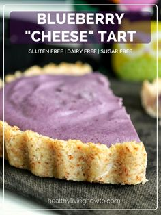 Healthy Recipe: Blueberry Cheese Tart   healthylivinghowto.com