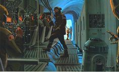 "McQuarrie played the uncredited role of General Pharl McQuarrie in The Empire Strikes Back. He appears in Echo Base on Hoth in the film's opening sequence. An action figure in his likeness as ""General McQuarrie"" was produced for Star Wars 30th anniversary."