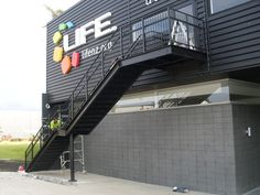 Steel Staircase - Steel Stairs Steel Stairs, Exterior, Image, Outdoor Rooms