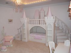 A princess palace bed...I just LOVE this!!!
