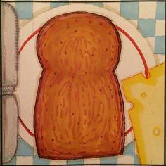Sandwich / boterham   B van boterham