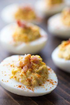 Paleo Recipe: Chipotle Bacon Deviled Eggs