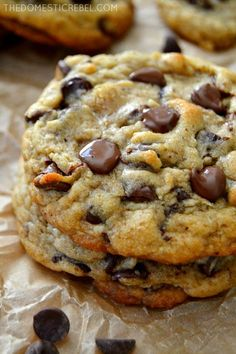 This Ultimate Chocolate Chip Cookie Recipe is the ONLY recipe you need! It produces soft, chewy, supremely chocolaty, buttery cookies with crisp edges and gooey centers. So easy, so perfect!