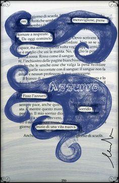 Poesie nascoste: ultima pagina di Bianca come il latte