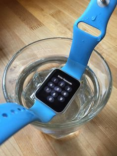 future of apple watch: waterproof! // my pin // q #4 c) what new features will be added? //  #smartwatch