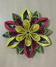 Quilled hanging