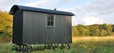 Butser - A beautiful Wriggly Tin Shepherd hut in the South Downs National Park. Perfect for those long summer walks.
