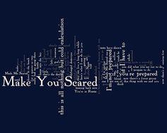 Hip Tour: Scared - Lyrics