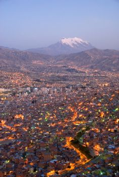 La Paz, Bolivia, South America by John Elk