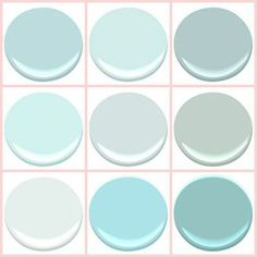 "ocean air by benjamin moore | BENJAMIN MOORE - ""THE BEACH BLUES "": BIRDS EGG, CLEAR SKIES, GOSSAMER ..."