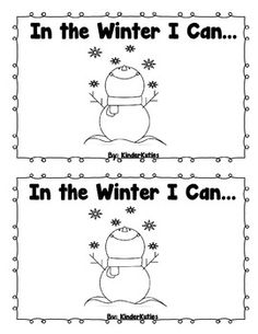 This is a Winter sight word emergent reader mini book.  Sight words included: I, can, a, an, the, in  Perfect for the young readers!