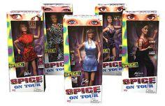 Spice Girls dolls I had all of them!!!