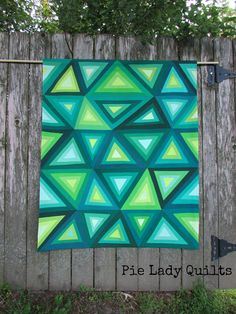 Love at First Glow: Pie Lady Quilts