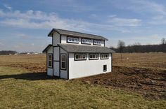 Amazing chicken coop with lots of cool features inside!