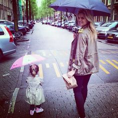 SPOTTED: #NicolettevanDam and her mini-me Lola-Lily wearing #custom #made #Unickz #Converse #Chucks #AllStars  Get yours now on www.unickz.nl