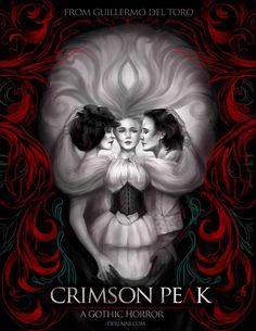 """""""Crimson Peak"""" movie poster"""