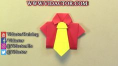 how to origami Shirt and Tie .    video tutorial of create beautiful origami shirt and Tie .   freinds , today we are here to teach you how to create origami shirt and Tie step by step and you learn a new paper craft . after you create this paper shirt and Tie you can use it in different occasion like father day , Valentine , gift and etc . #origami #origamiart #papercraft #crafts #art #crafts #shirt #tie #paper #howto #origamishirt